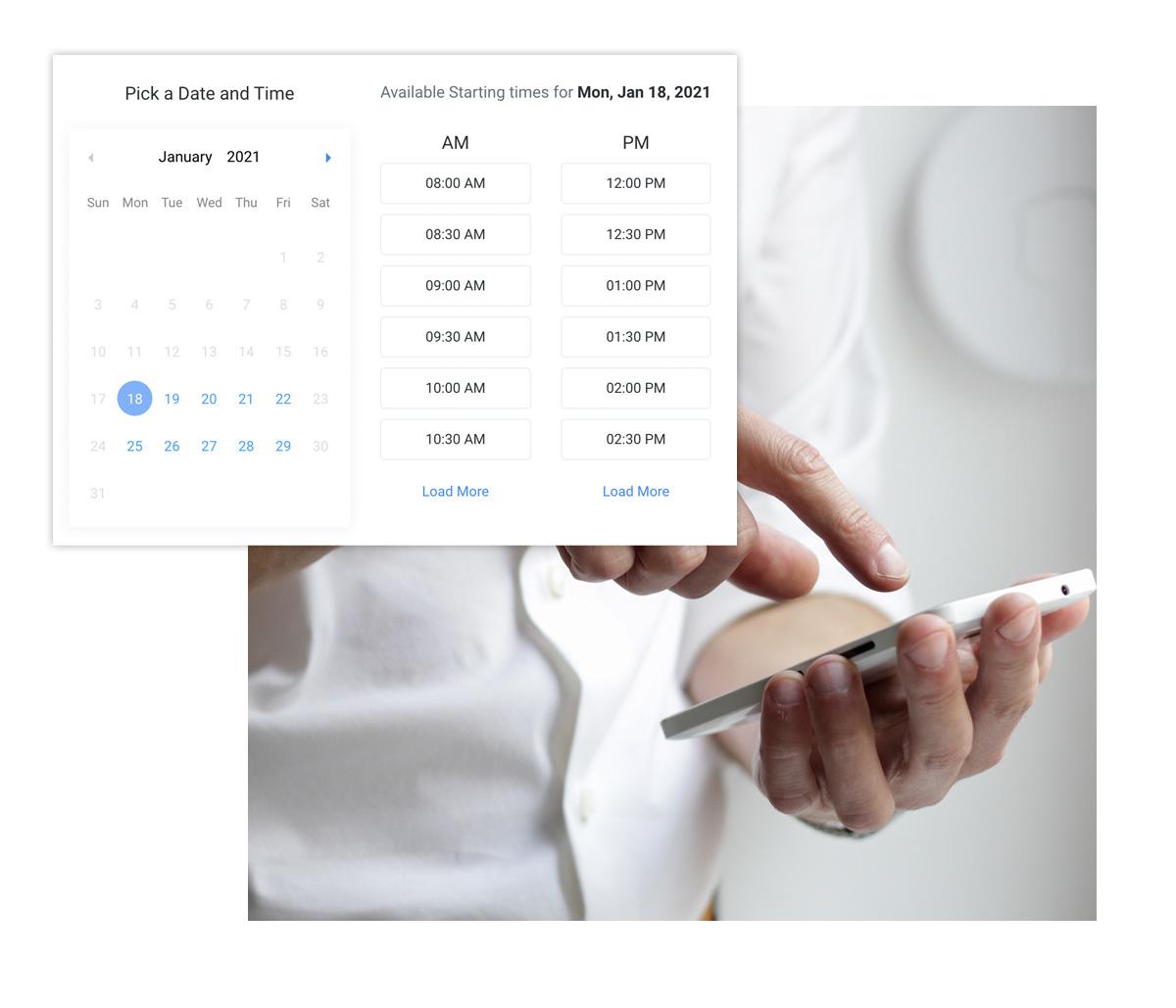 Online Scheduling Feature